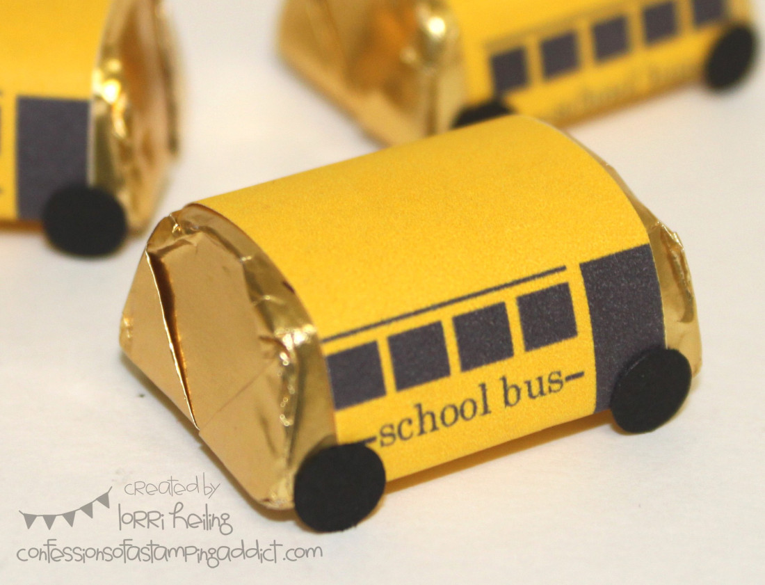 Bus Driver or Teacher Appreciation Gift :: Confessions of a Stamping ...
