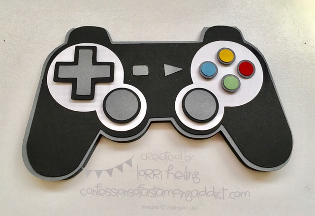 playstation controller birthday card  confessions of a