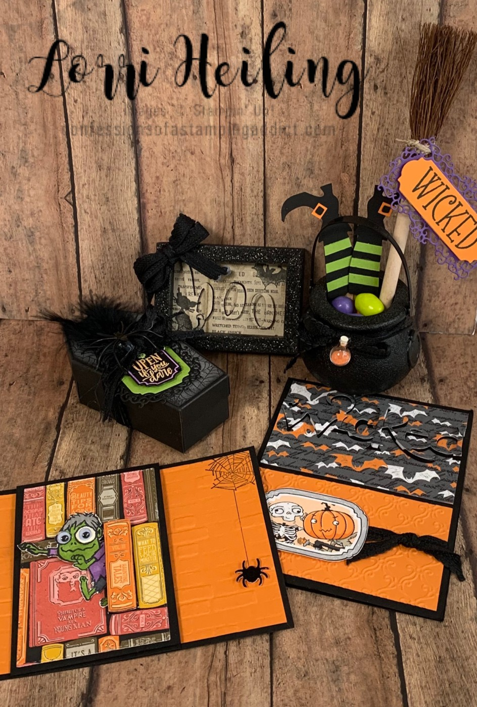 Halloween Projects For Break Out Class At Cozy Craft Retreat