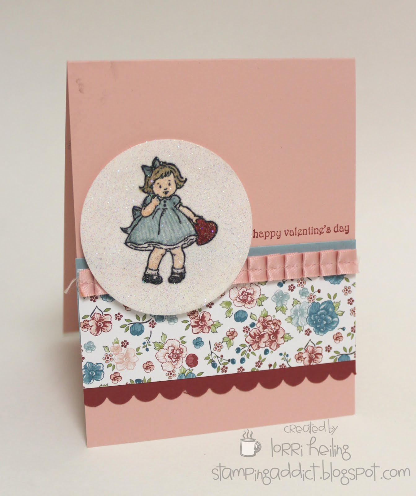 Greeting card kids confessions of a stamping addict greeting card kids valentine kristyandbryce Choice Image