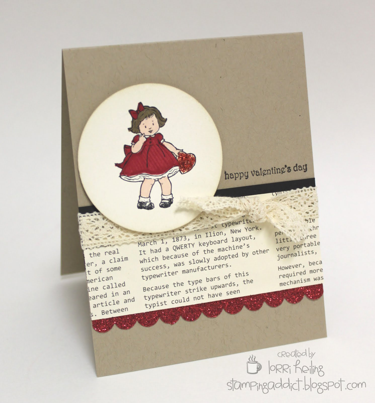 Greeting Card Kids Valentine Confessions Of A Stamping Addict