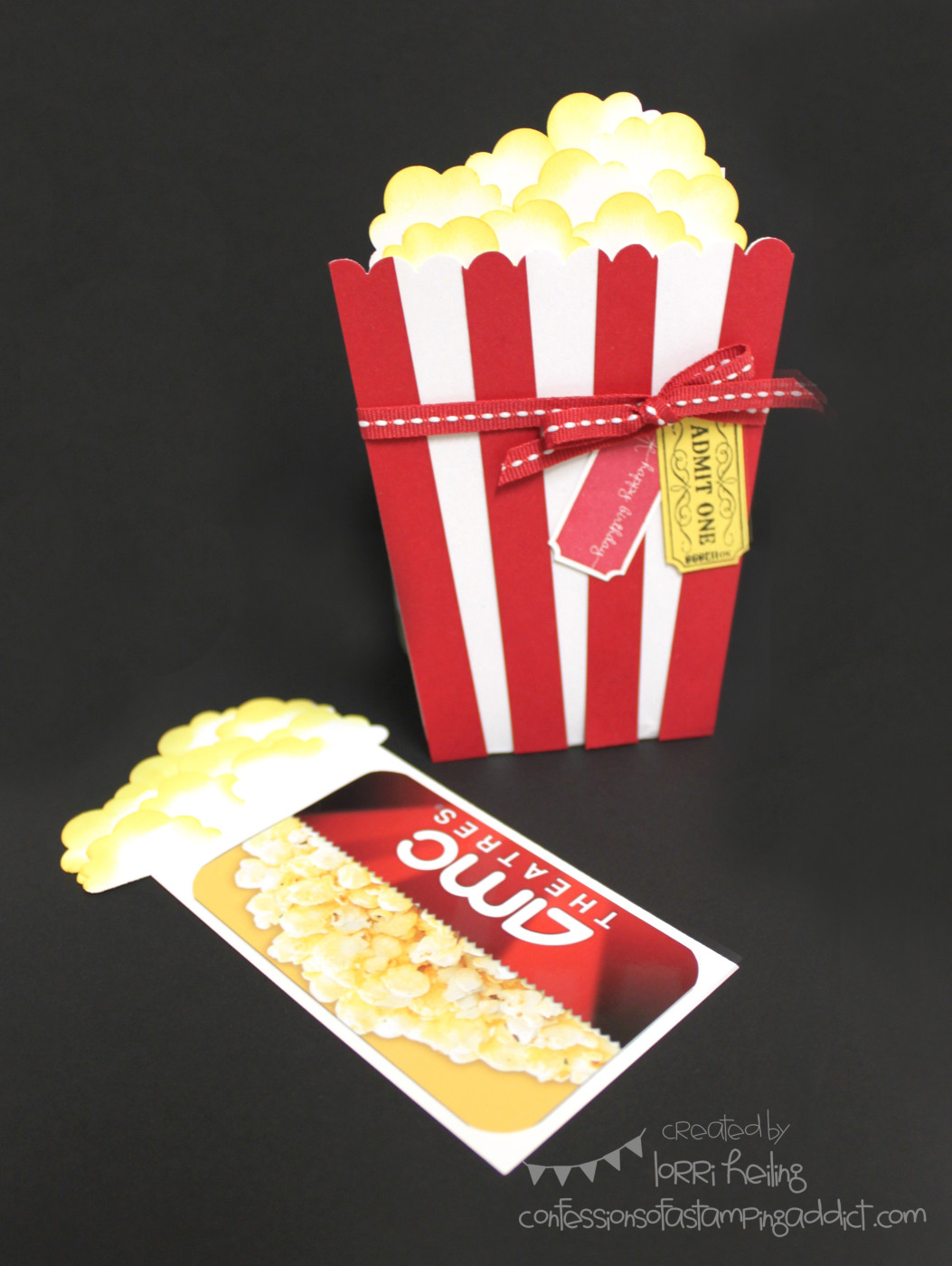 Popcorn Card Video :: Confessions of a Stamping Addict