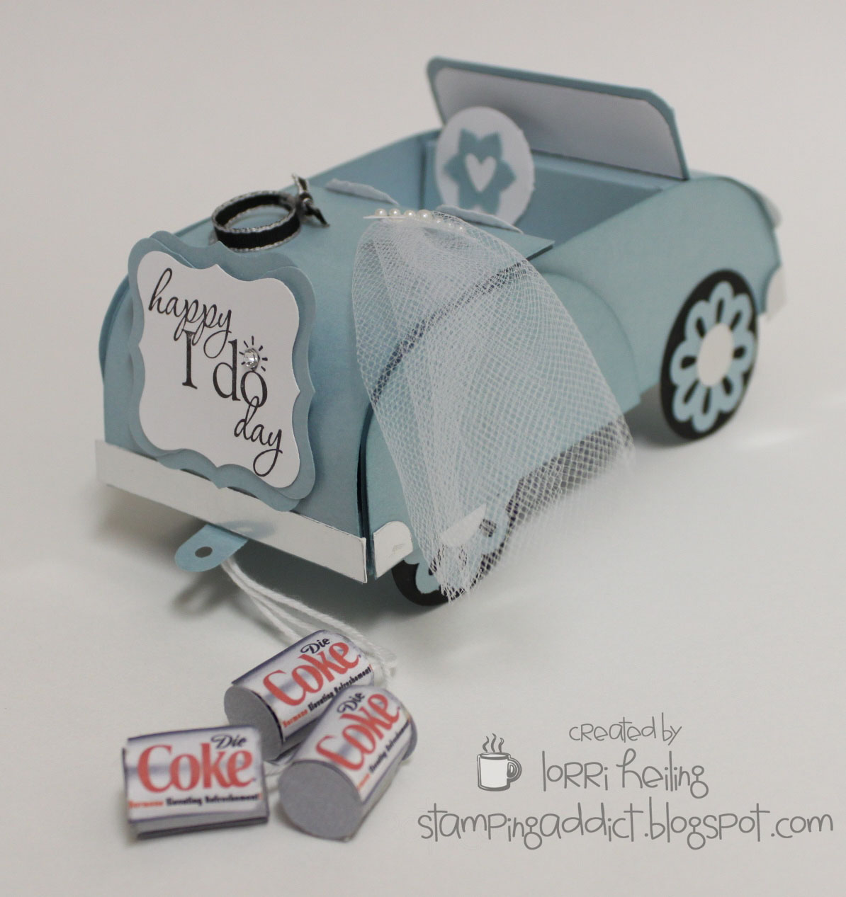 Gift Card For Wedding: Wedding / Anniversary Convertible Gift Card Holder